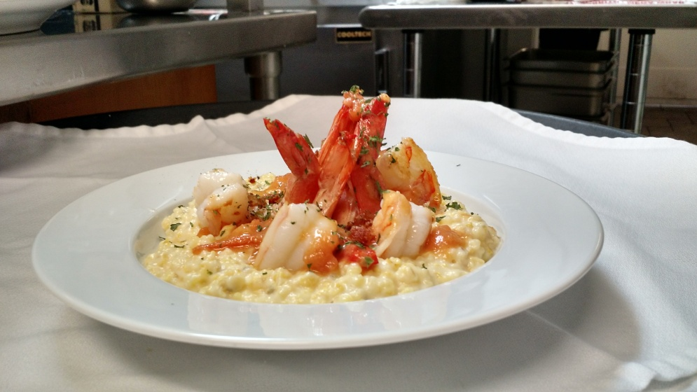 Shrimp 'n' Grits