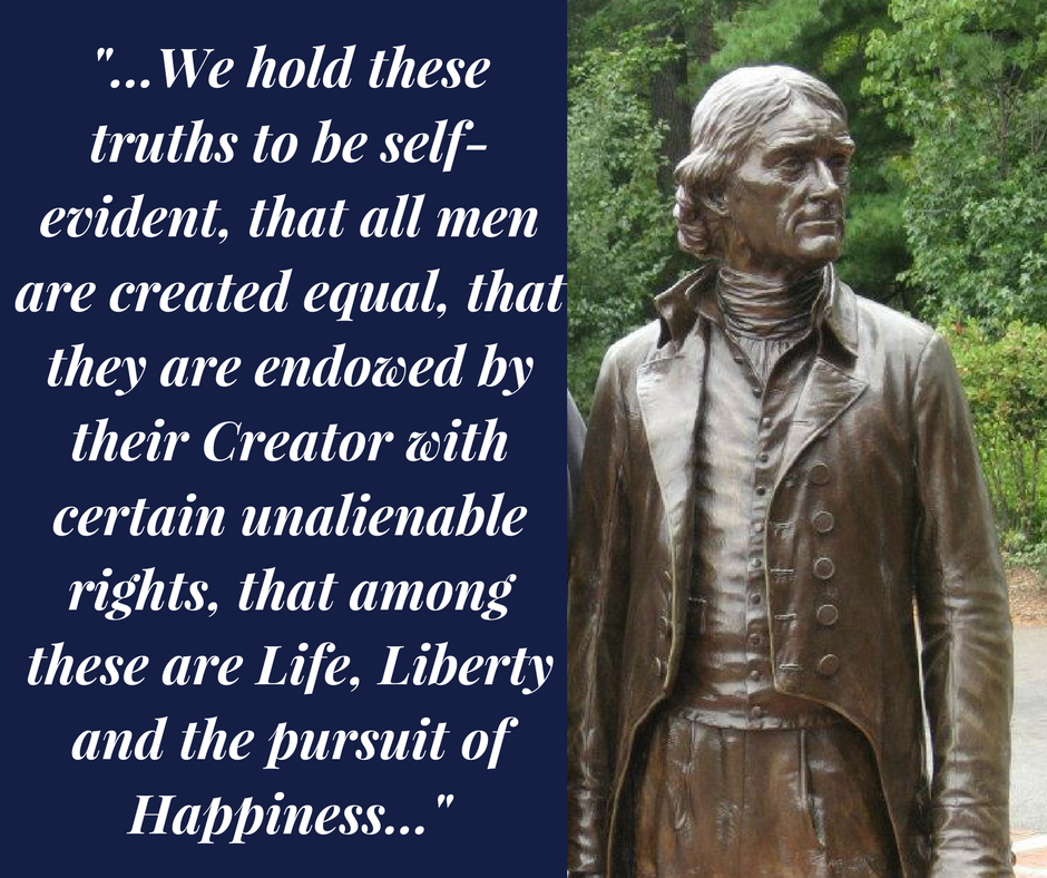 -...We hold these truths to be self-evident